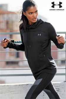 Under Armour Black Tech Terry Slouchy Hoody