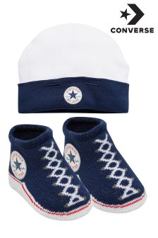 Converse Hat And Bootie Combo Pack