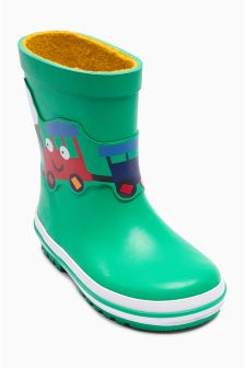 Train Wellies (Younger Boys)