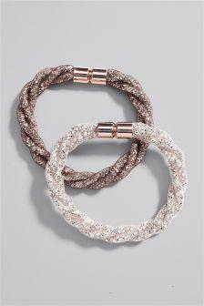 Mesh Bracelet Two Pack
