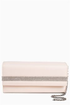 Sparkle Boxy Clutch Bag