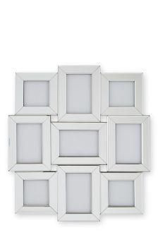9 Aperture Mirror Collage Frame