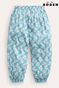 Belgian Soft Twill Stripe Teal Fabric Roll