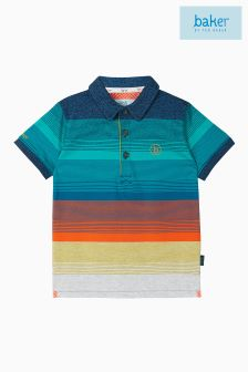Baker by Ted Baker Blue Stripe Polo