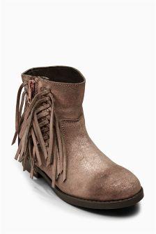 Fringe Boots (Older Girls)