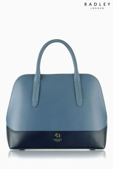 Radley Blue Kennington Domed Multiway Bag