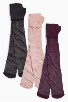 Sparkle Tights Three Pack (3-16yrs)