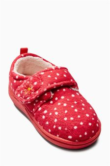 Spot Slippers (Younger Girls)