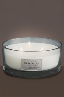 Collection Luxe New York Fragranced 3 Wick Luxury Candle