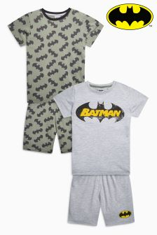 Batman® Short Pyjamas Two Pack (3-12yrs)