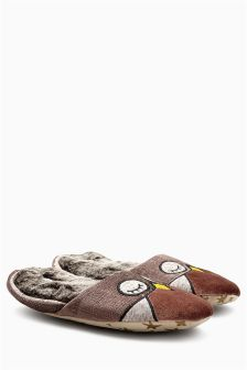 Owl Mule Slippers