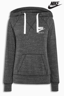 Nike Grey Gym Vintage Hoody