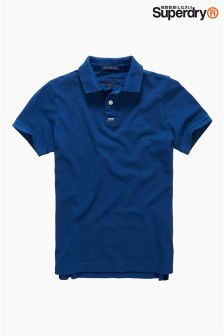 Superdry Blue Basic Polo
