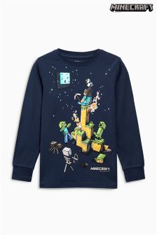 Long Sleeve Minecraft Top (4-14yrs)