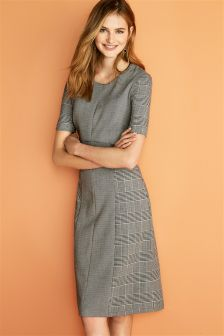 Puppytooth Dress