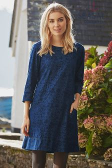 Seasalt Navy Vidalias Dress