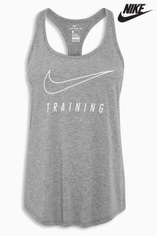 Nike Grey Dry Training Tank