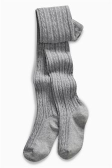 Cable Knit Tights (3-16yrs)