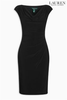 Lauren Navy Valli Dress