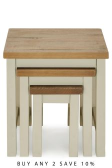 Set Of 3 Hartford® Painted Nest Of Tables