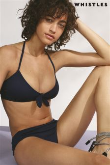 Whistles Navy Carolina Bikini Bottom