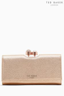 Ted Baker Rose Gold Marta Leather Purse