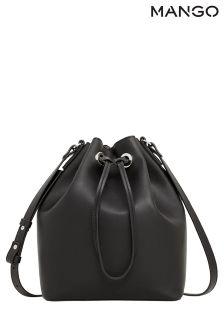 Mango Black Bucket Bag