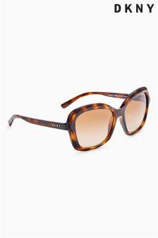 DKNY Tortoiseshell Retro Square Sunglasses