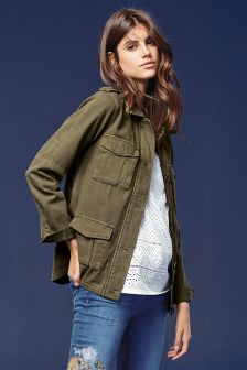 Buy Women's coats and jackets Green Petite from the Next UK online ...