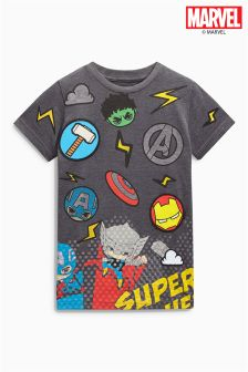 Marvel Badged T-Shirt (3-16yrs)