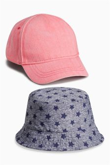 Hats Set Two Pack (Younger Girls)