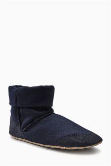 Felt Slipper Boots