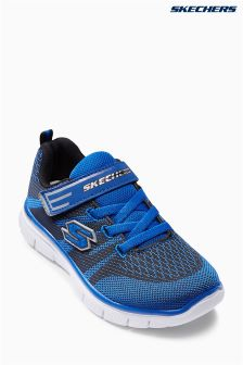Skechers® Blue Flex Advantage Strap Sneaker