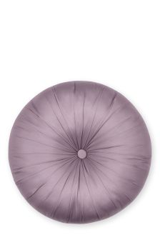 Silver Round Cushion