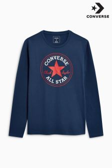 Converse Chuck Patch Long Sleeve Top