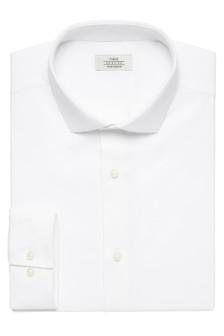 Poplin Stretch Cotton Rich Shirt