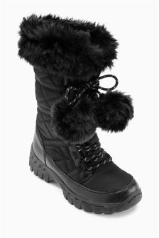 Pom Pom Snowboots (Older Girls)
