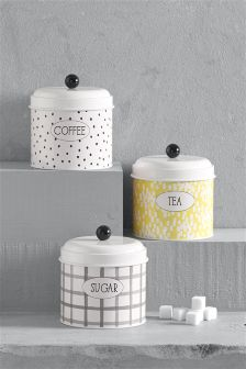 Set Of 3 Happiness Tins