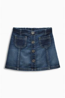 Denim Skirt (3mths-6yrs)