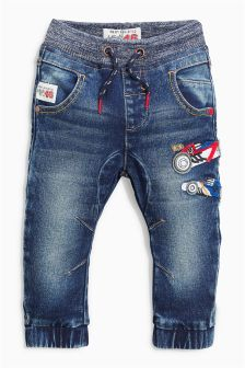 Car Pull-On Jeans (3mths-6yrs)