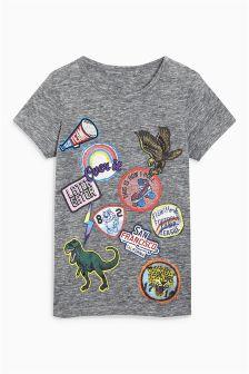Badge T-Shirt (3-16yrs)