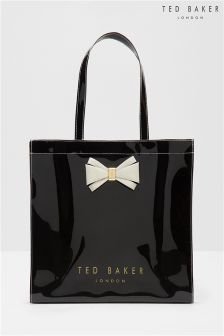 Ted Baker Black Large Bow Alacon Shopper