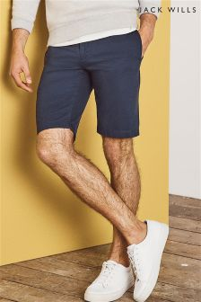 Jack Wills Navy New Biggin Chino Short