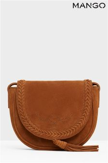 Mango Tan Tassel Bag