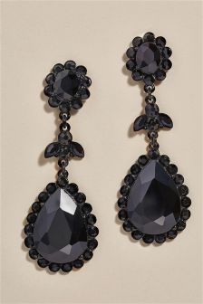 Jewelled Drop Earrings