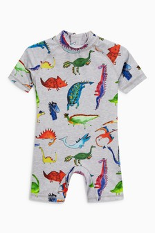 Dino Print Sunsafe Suit (3mths-6yrs)