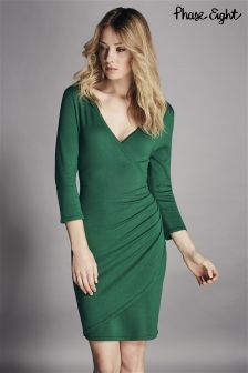 Phase Eight Green Maisie Wrap Dress