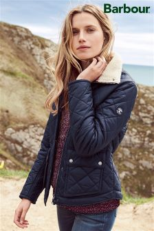 Barbour® Navy Cushat Quilted Jacket