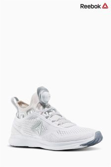 Reebok White Pump Plus