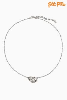 Folli Follie Silver Love And Fortune Necklace